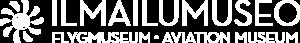 Ilmailumuseo - logo, white