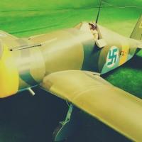 lentokone-viheriolla
