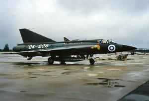 Saab 35 Draken DK-206, 1985 B Hielm