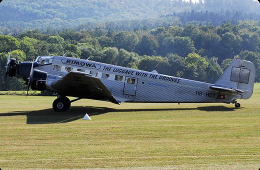 JU-AIR on perunut Junkersin vierailun Kaivopuiston lentonäytökseen