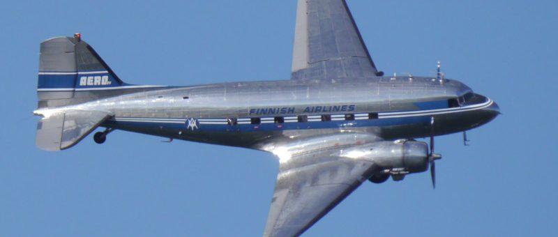 """DC-3 OH-LCH """"Hotelli"""" sai Museoviraston restaurointiavustuksen"""