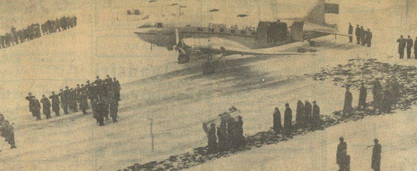 Marsalkka Mannerheimin viimeinen matka Suomeen 70 vuotta sitten