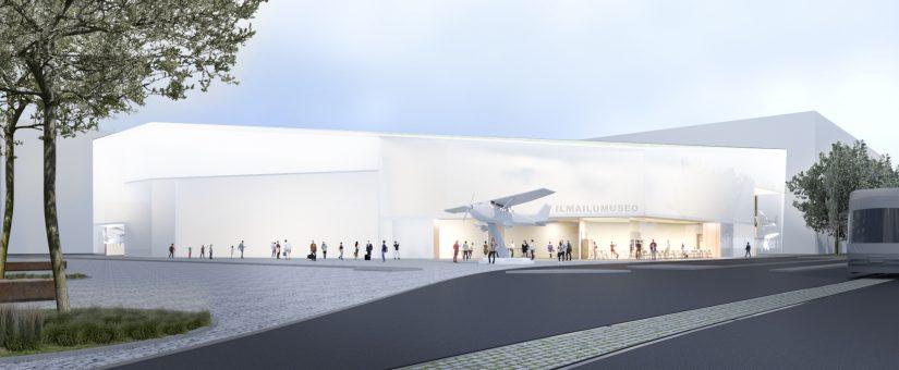 Tiedote: Uusi Ilmailumuseo -hanke etenee – Vantaan kaupunginhallitus hyväksyi esityksen hankkeen jatkovalmistelusta